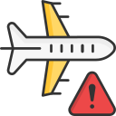 aeroplane, air travel, avoid, flight, travel, vacation, warning