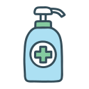alcohol, clean, gel, hand, hygiene, sanitizer, soap icon