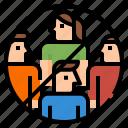 avoid, coronavirus, covid, crowd, group, social