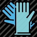 coronavirus, covid, glove, medical, protect