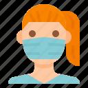 coronavirus, covid, doctor, mask, medical, protective