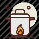 boil, coronavirus, covid19, health, quarantine, sars icon