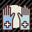 coronavirus, covid19, gloves, health, protective, quarantine, sars