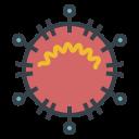 corona, corona virus, coronavirus, covid-19, flu, influenza, mers, sars, virus icon