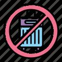 avoid, luggage, trevel icon