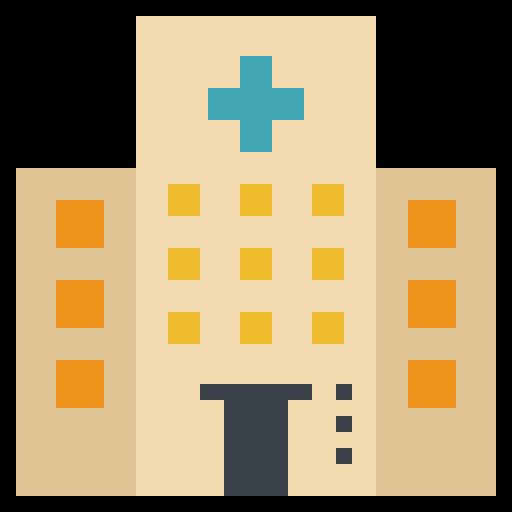 Building, healthcare, hospital, medical, nursing icon - Free download
