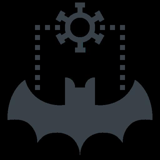 bat, carrier, corona, corona virus, coronavirus, covid-19, flu, virus icon