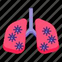 coronavirus, disease, lungs, virus