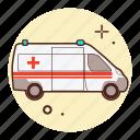 ambulance, emergency, hospital, medicine, transport, vehicle