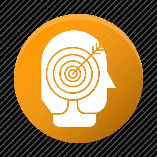 arrow, business, corporate, goal, headhunter, target icon