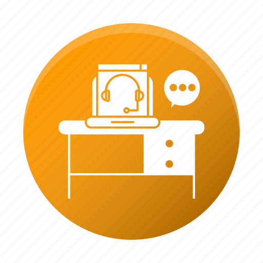 business, chat, consulting, corporate, online, workplace icon