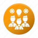 business, corporate, skills, team icon