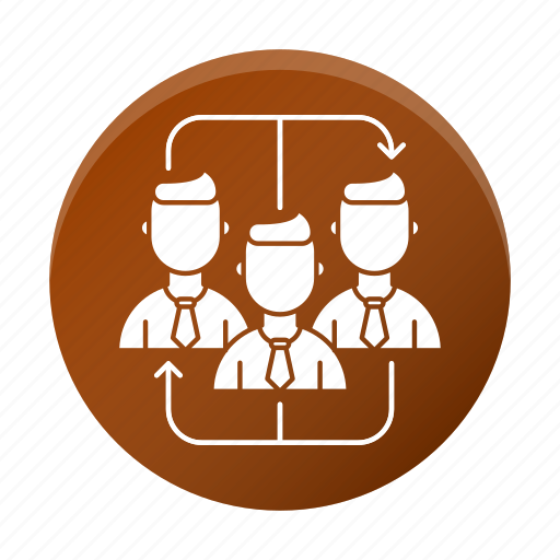 business, corporate, team, teamwork icon