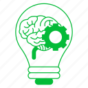 brain, brainstorm, business, corporate business, creative icon