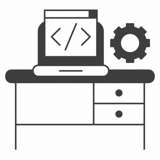 coding, corporate business, development, programming, seo icon