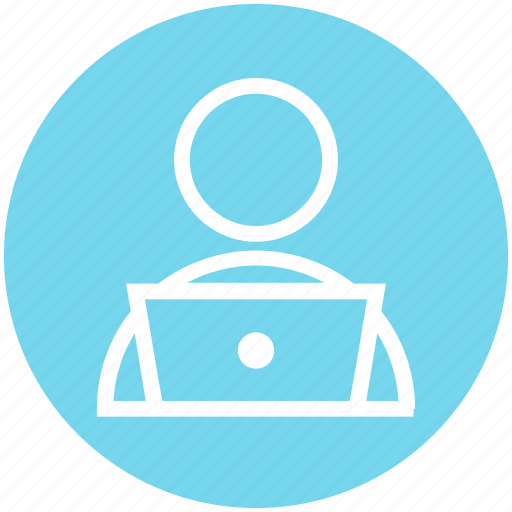Employee, management, office worker, person, user, worker icon - Download on Iconfinder