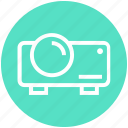 beamer, device, digital, projection, projector, theatre, video projector icon