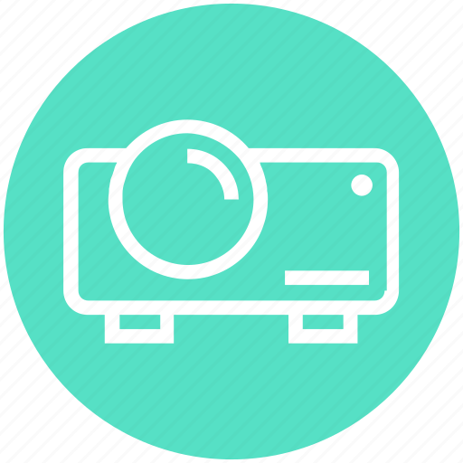Beamer, device, digital, projection, projector, theatre, video projector icon - Download on Iconfinder