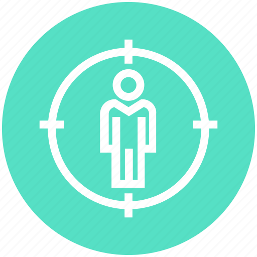 Account, audience, corporate, management, target, target user, user icon - Download on Iconfinder