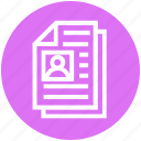 business, content management, documents, duplicate, files, management, papers icon