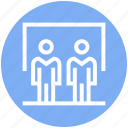board, business, humans, management, status, users icon