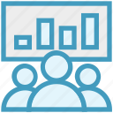 board, business, chart, conference, corporate, group, users icon