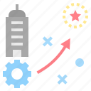 planning, procedure, strategy, success, tactic icon