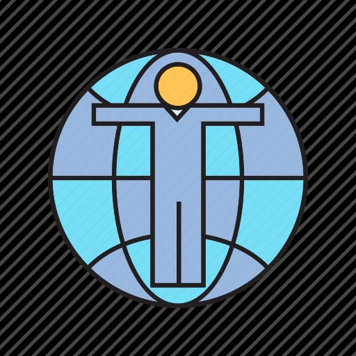 global, globe, people, world, world wide icon