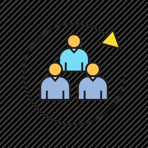 loop, people, target group icon