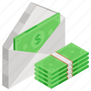 emolument, pay, payment, salary, stipend, wages icon
