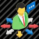 business career, business opportunities, choice, comparison, decide, person decision