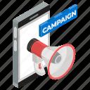 advertising, campaign marketing, digital marketing, internet marketing, marketing, publicity icon