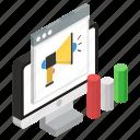 advertising, digital marketing, internet marketing, marketing, publicity icon
