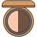accessory, blush, bronzer, makeup, power icon