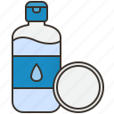 care, cleansing, facial, toner, water icon