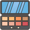 eye, makeup, palette, shadow, shimmer icon