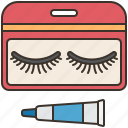 accessory, extension, eyelashes, fake, makeup icon