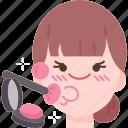 blusher, face, skin, makeup, beauty