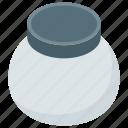 beauty cream, cleansing cream, cosmetic, cream jar, face cream, facial cream, whitening cream icon