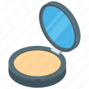 beauty product, compact powder, cosmetic, face powder, make up, self grooming icon