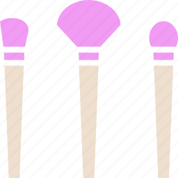 brush, makeup, makeup brush icon