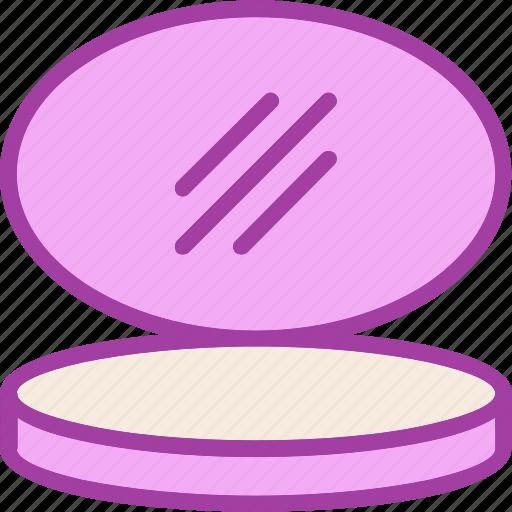 face powder, makeup, powder icon