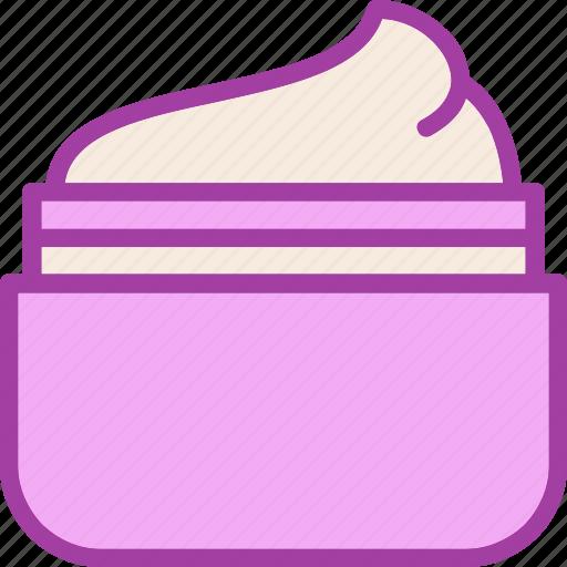 care, cream, cream jar, skin care icon