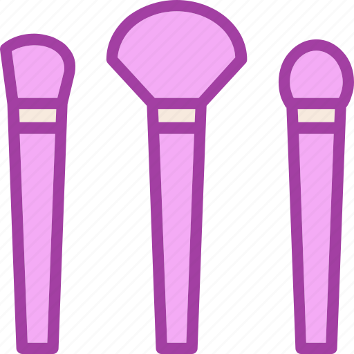 brush, makeup, makeup brush icon