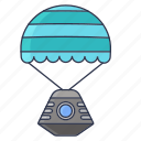 camera, planet, science, space icon icon