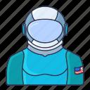 astronomy, cosmonaut, cosmos, space, universe icon icon