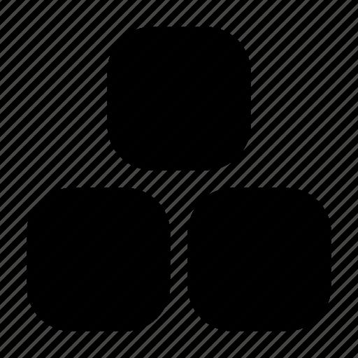 baby, blocks, cubes icon