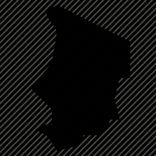 chad, map icon