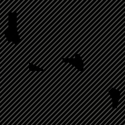 comoros, map icon
