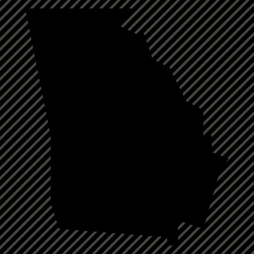 georgia, map icon